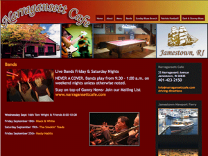 Bar & Cafe with Live Music
