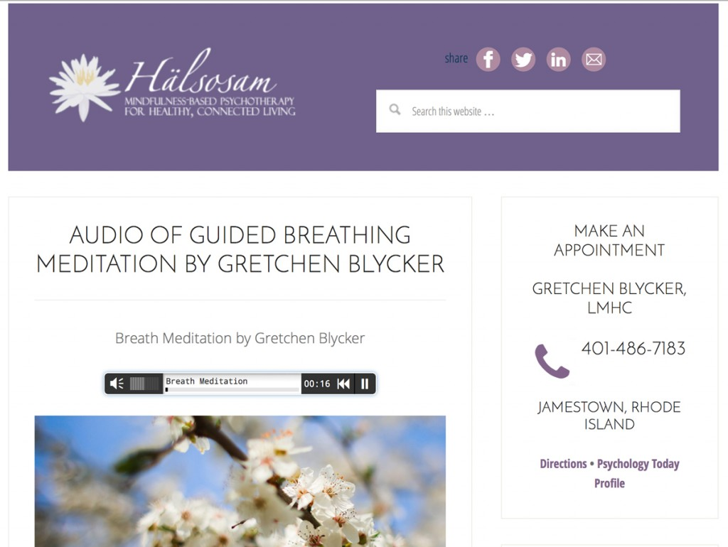 Gretchen Blycker Therapist