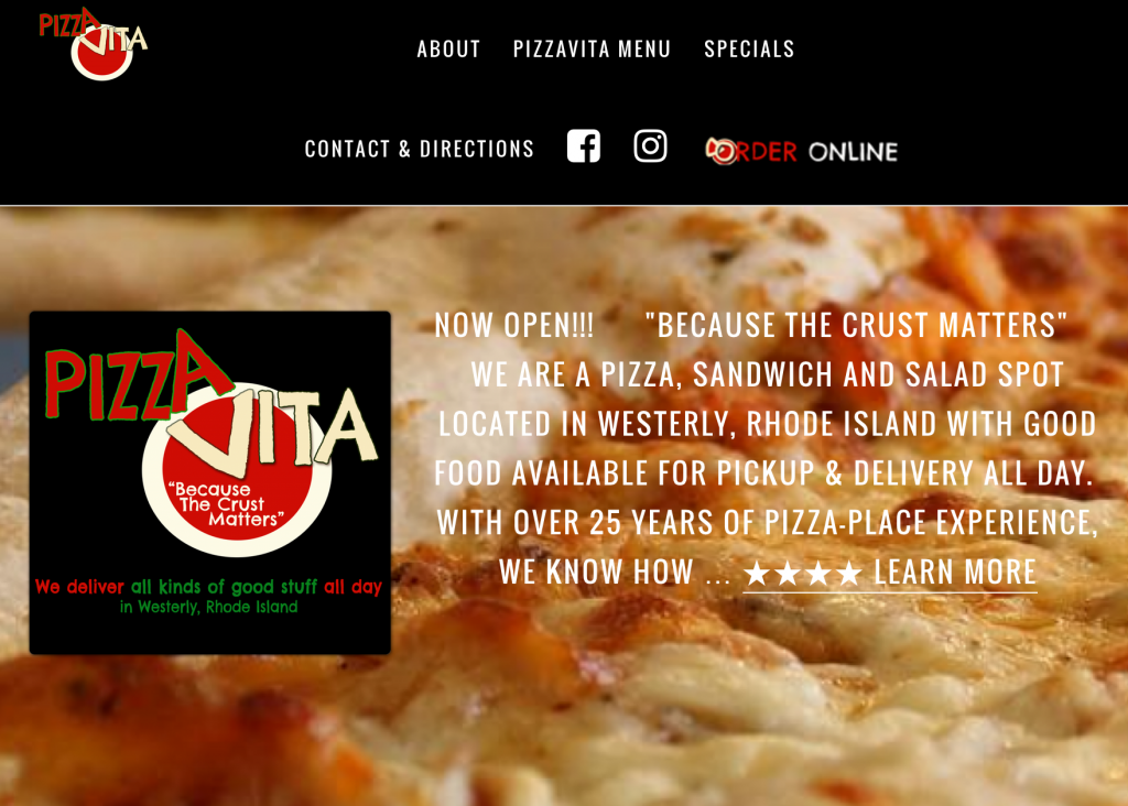 Pizza Vita Best Rhode Island Pizza